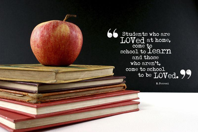 School Quote 1 4x6